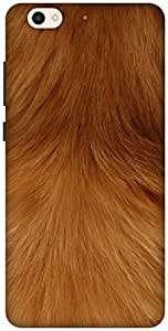 The Racoon Grip Smooth Fur hard plastic printed back case / cover for Gionee S6