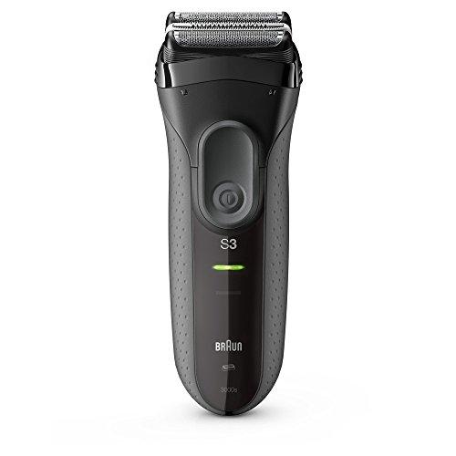 Braun Series 3 ProSkin 3000s - Afeitadora eléctrica / máquina de afeitar recargable, color negro