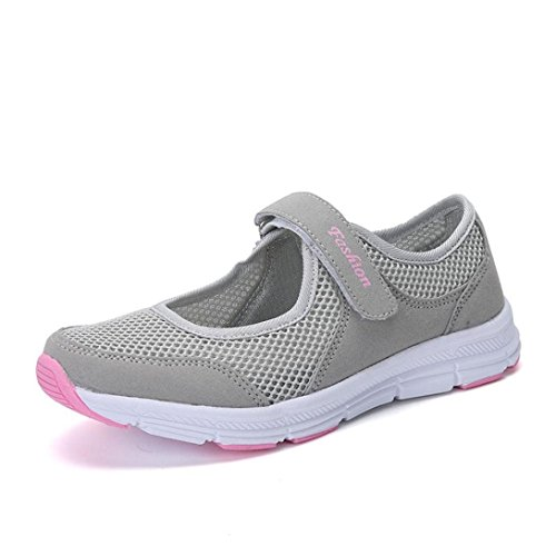 Casual Zapatos,ZARLLE Verano Zapatos Zapatillas Respirable Malla Mocasines Deportes Mujer Sneaker Malla Plataforma Sandalias Casual