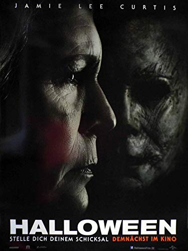 Halloween - Teaser - Jamie Lee Curtis - Filmposter A1 84x60cm gerollt (1)
