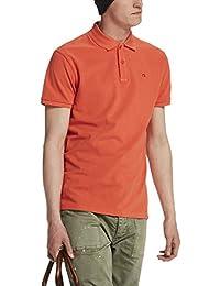 Scotch & Soda Herren T-Shirt Classic Garment Dyed Polo in Cotton Pique Quality