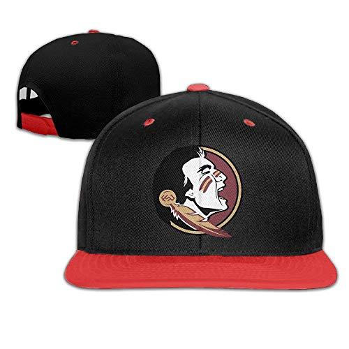 Tboylo WG Youth Baseball Caps Florida State University Seminoles Red