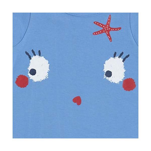 Tuc Tuc Camiseta Punto Azul Niña Arrecife de Coral Bebés 3