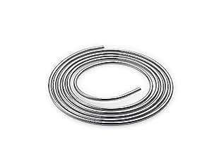 Schell 487410699 Tuyau flexible en cuivre Chromé 5 m x 10 mm