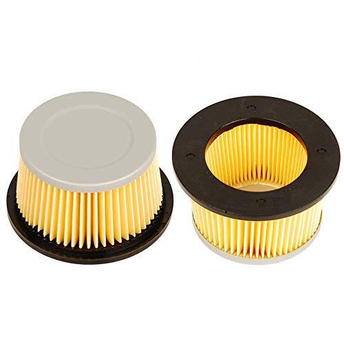 OxoxO 2 pcs faciles à Filtre à air pour Tecumseh 30727 30604 Fit H22 H25 H30 H35 H40 H50 H60 John Deer Am30900 Cub Cadet 488619 488619-r1 Lesco 050113