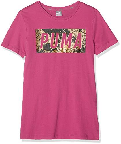 Puma Mädchen Style Graphic 1 T-Shirt, Magenta Haze, 164