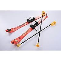 Kinderski Babyski Ski Lernski 90cm 5 Farben für Kinder (Rot)