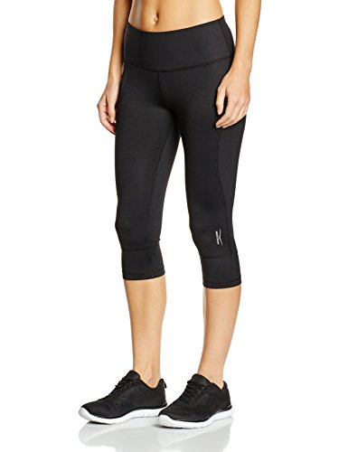 Venice Beach Damen Shorts Nomina Capri Pants, Schwarz, L, 13650-990