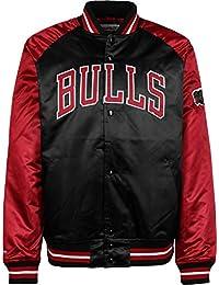 Mitchell & Ness Though Season Satin Chicago Bulls Chaqueta universitaria