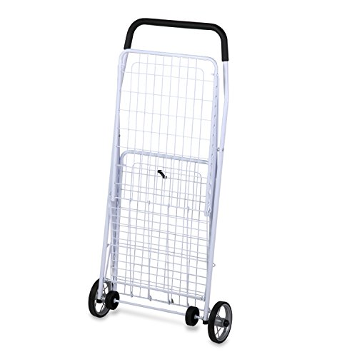 honey-can-do-crt-01513-chariot-multi-usage-a-4-roulettes-metal-blanc-937-x-54-x-425-cm