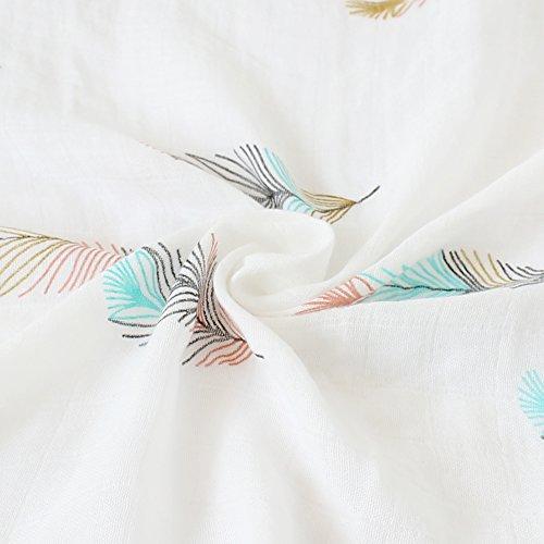 LifeTree Baby Musselin Swaddle Decke - 120x120 cm