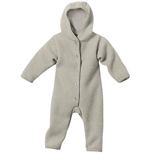 Disana 36110XX - Walk-Overall Wolle grau, Size / Größe:74/80 (6-12 Monate) -