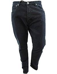 Voi Jeans Noir Jet Twister Coupe droite Jeans