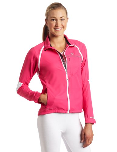 PEARL IZUMI Damen Barrier Convertible Jacket XS Pink Punch Womens Convertible Wind Jacket