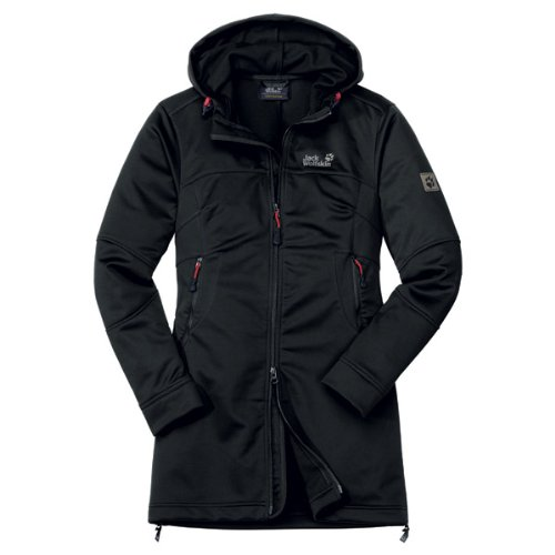 Jack Wolfskin SONIC YOUTH COAT WOMEN black
