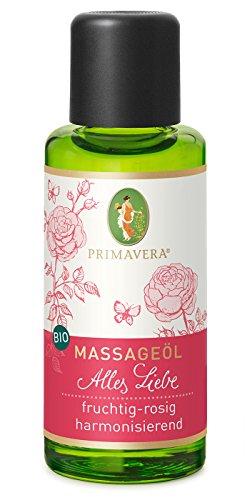 Primavera Bio Massageöl Alles Liebe, 50 ml