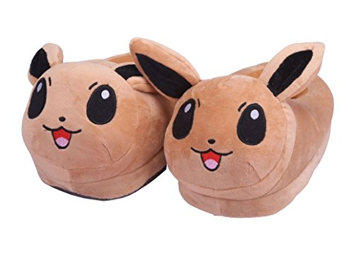 katara-pokemon-plush-slippers-eevee-brown-unisex-one-size-slippers-for-adults-they-fit-uk-sizes-35-1