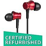 (CERTIFIED REFURBISHED) Mi Earphones Basic with Mic (Red)