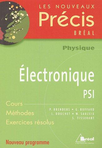 Electronique PSI