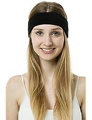 Shenky - Lot de bandeaux anti-transpiration en tricot - pour le sport/tennis