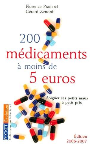 200 MEDICAMENTS MOINS DE 5 EUR
