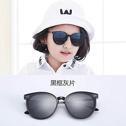 QH 2019 Neue Kinder polarisierte Sonnenbrille Koreanische Version der Flut Eltern-Kind-Baby-Brille gm Sonnenbrille Mädchen UV-Schutz
