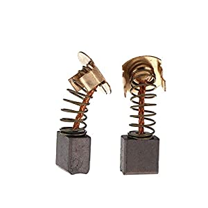 ENET 2pcs escobillas de Carbono Cepillo Repuesto para hr241 DHR202 18 V Cordless SDS