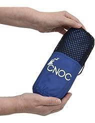 CNOC Prima Saco de Dormir de Verano de Microfibra + Funda para la Almohada I Liner