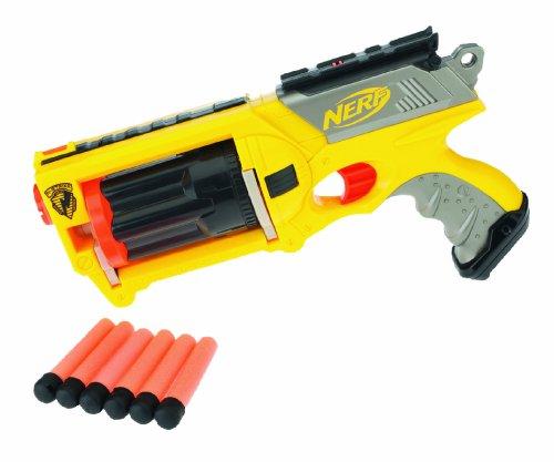 Hasbro 28418148 - Nerf N-Strike Maverick - mit 6 Pfeilen