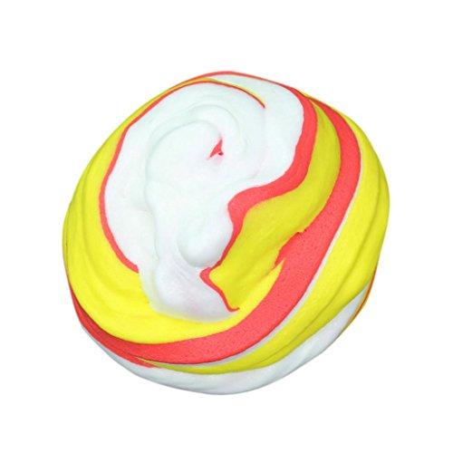 Amuster moda fluffy floam slime resistenza allo stress profumato no borax kids toy slurry toy
