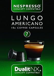 Dualit 6 x NX Lungo Americano Nespresso Concept Compatible - 10pk