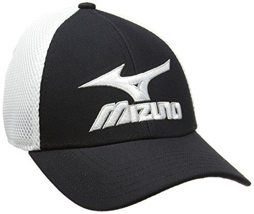Mizuno - Phantom - Casquette (Lot de 6) - Mixte - Multicolore (Noir/Blanc) - Taille unique