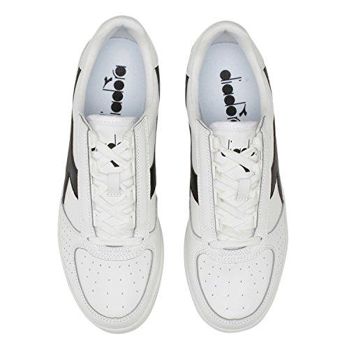 Diadora Herren B. Elite Sneakers C1880 - WEISS-SCHWARZ-WEISS