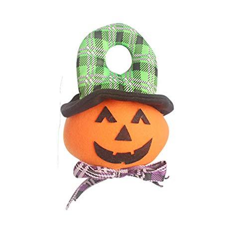ouken Kinder-Spielzeug-Puppe-Geschenk-Kürbis-Party Home Tür Dekorieren Kinder Halloween Türschilder Halloween-Anhänger 9.5