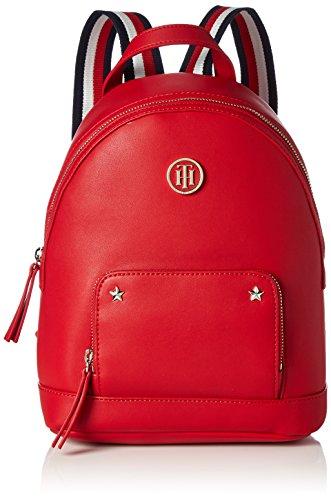 Tommy Hilfiger Damen Youthful Novelty Backpack Rucksackhandtasche, 10.5x28x21.5 cm