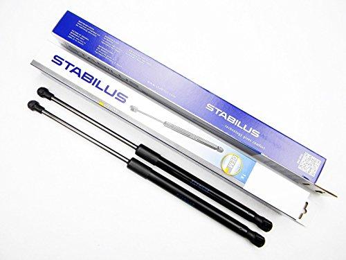 Preisvergleich Produktbild 2x STABILUS LIFT-O-MAT LIFTER GASFEDER DÄMPFER HECKKLAPPE AUDI A3 FLIEßHECK 8P1 023581