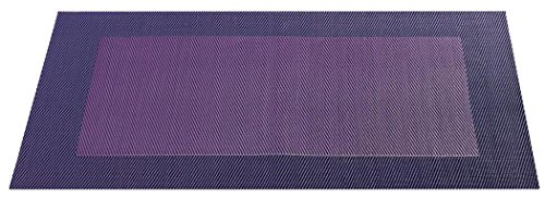 ASA - Set de table - PVC - Violet