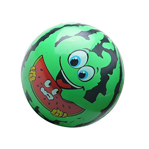 (Sharplace Aufblasbare Wassermelone Gesicht Wasserball, Blow-up Strandball, Wasserspielzeug für Wasser Pool Sand Party Garten - Kugeldurchmesser: 22cm)