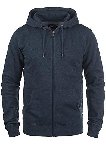 SOLID BertiZip - Sweat à capuche zippé- Homme, taille:M;couleur:Insignia Blue Melange (8991)