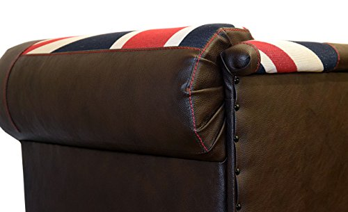 Canape pour chien dog bed oxford chesterfield union jack for Canape pour chien