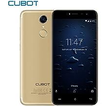"CUBOT NOTE PLUS - Smartphone Libre, Delgado y Ligero Diseño 4G Android 7.0 5.2"" FHD Pulgadas Pantalla 1080x 1920 Pixeles, 3 + 32G Memoria Incorporada, MT6737T Quad-Core 1.5GHz - Oro"