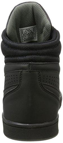 Kappa Forward, Baskets Hautes Homme Noir (1111 Black)