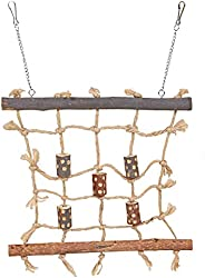 Trixie Natural Living Rope Climbing Wall, 27 x 24 cm