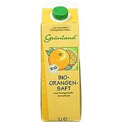 Grünland Bio-Orangensaft, 1 l