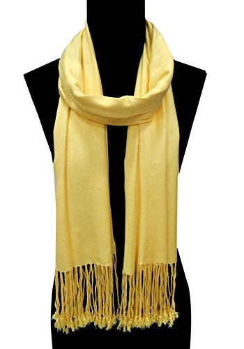URBAN-TRENDZ Latest Collection of Viscose Pashmina Scarf Stole Duppatta Shawl with twisted...
