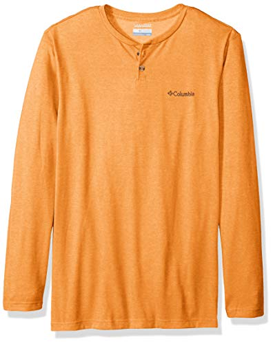 Columbia Herren Thistletown Park Big & Tall Henley Shirt, Valencia Heather, 1X -