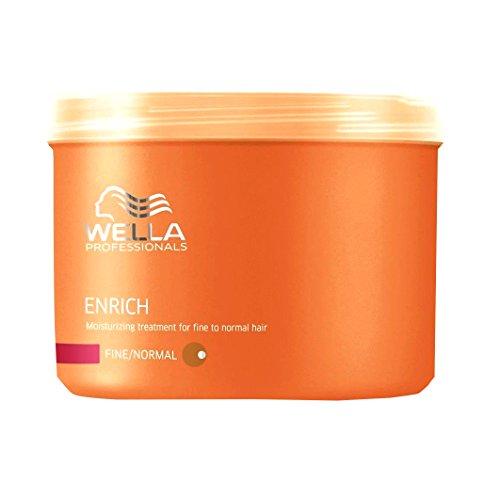 Wella Professionals Enrich unisex, Feuchtigkeitsspendende Mask für feines bis normales Haar 500 ml, 1er Pack (1 x 1 Stück) -