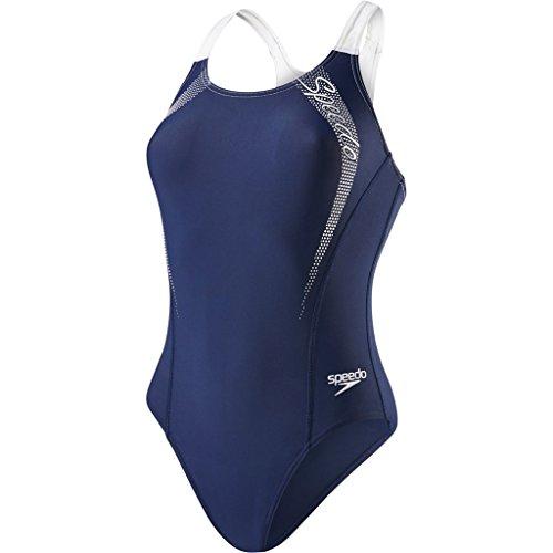 speedo-medalist-maillot-de-bain-femme-multicolore-marine-blanc-fr-40-taille-fabricant-34