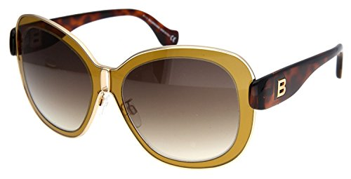 balenciaga-womens-0003-shiny-light-brown-tortoise-frame-gradient-brown-lens-metal-sunglasses