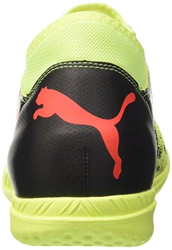 Puma Men s Future 18 4 IT Football Boots  Fizzy Yellow-Red Blast Black  9 UK 9 UK